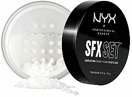 Parfums et Produits cosmétiques Poudre libre fixante pour visage - NYX SFX Setting Powder