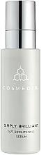 Parfums et Produits cosmétiques Sérum à l'acide salicylique pour visage - Cosmedix Simply Brilliant 24/7 Brightening Serum