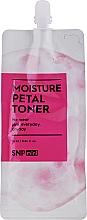 Parfums et Produits cosmétiques Lotion tonique aux céramides - SNP Mini Moisture Petal Toner (mini)