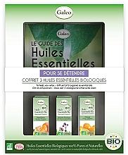 Parfums et Produits cosmétiques Galeo To Help You Relax Gift Set - Coffret, Pour se détendre (huiles essentielles bio/3x10ml)