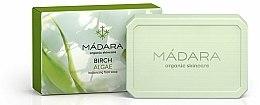 Parfums et Produits cosmétiques Savon pour visage Bouleau et algue - Madara Cosmetics Birch & Algae Soap