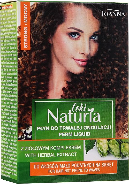 Set de permanente cheveux indisciplinés (lotion permanente + fixateur) - Joanna Naturia Loki Liquid