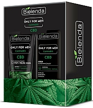 Parfums et Produits cosmétiques Bielenda Only For Men Cannabis - Set (crème pour visage/50ml + masquer pour visage/150g)