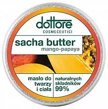 Parfums et Produits cosmétiques Beurre pour visage et corps, Mangue et Papaye - Dottore Sacha Butter Mango-Papaya