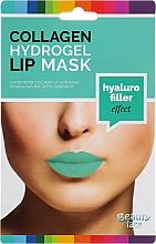 Parfums et Produits cosmétiques Masque hydrogel au collagène pour lèvres - Beauty Face Collagen Hydrogel Lip Mask Hyaluro Filler