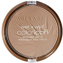 Poudre bronzante pour visage SPF 15 - Wet N Wild Color Icon Bronzer SPF15 — Photo N1