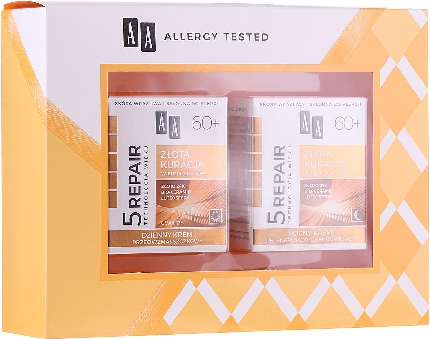 AA Age Technology 5 Repair - Set soin visage (crème de jour/50ml + crème de nuit/50ml)
