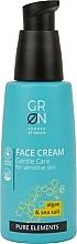Parfums et Produits cosmétiques Crème aux algues et sel marin pour visage - GRN Pure Elements Algae & Sea Salt Face Cream