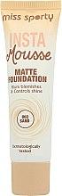 Parfums et Produits cosmétiques Fond de teint mousse matifiant - Miss Sporty Insta Mousse Matte Foundation