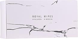 Parfums et Produits cosmétiques Lingettes nettoyantes à la vitamine E pour visage - N-Medical Hyaluron Royal Wipes