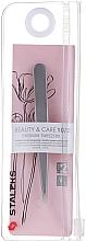 Parfums et Produits cosmétiques Pince à épiler large embout rétréci - Staleks