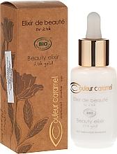 Parfums et Produits cosmétiques Elixir visage - Couleur Caramel Elixir De Beaute Oro 24K