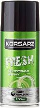 Parfums et Produits cosmétiques Déodorant spray - Pharma CF Korsarz Fresh Deodorant