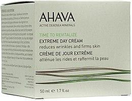 Parfums et Produits cosmétiques Crème de jour à l'huile de pépins de raisin - Ahava Extreme Day Cream