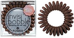 Parfums et Produits cosmétiques Élastique à cheveux - Invisibobble Power Pretzel Brown