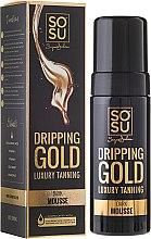 Parfums et Produits cosmétiques Mousse auto-bronzante à l'acide hyaluronique pour corps - Sosu by SJ Dripping Gold Luxury Tanning Mousse