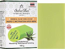 Parfums et Produits cosmétiques Savon à l'extrait d'aloe vera - Sabai Thai Herbal Aloe Vera Soap