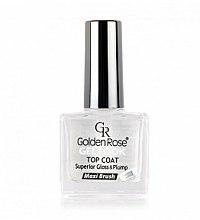 Parfums et Produits cosmétiques Top coat gel - Golden Rose Top Coat Gel Look