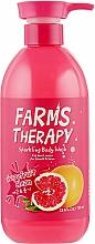 Parfums et Produits cosmétiques Gel douche à l'extrait de pamplemousse - Farms Therapy Sparkling Body Wash Grapefruit