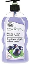 Parfums et Produits cosmétiques Savon liquide pour mains, Cassis et Aloe vera - Bluxcosmetics Naturaphy Hand Soap