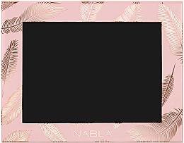 Parfums et Produits cosmétiques Palette magnétique vide pour fard à paupières, rose - Nabla Liberty Six Customizable Palette