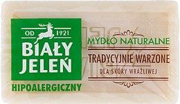 Parfums et Produits cosmétiques Savon naturel pour peaux sensibles - Bialy Jelen Hypoallergenic Natural Soap