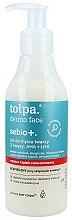 Parfums et Produits cosmétiques Gel nettoyant aux acides AHA + LHA pour visage - Tolpa Sebio+ AHA + LHA Cleansing Gel