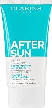 Parfums et Produits cosmétiques Baume après-soleil à l'aloès pour visage et corps - Clarins Soothing After Sun Balm 48H