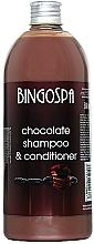 Parfums et Produits cosmétiques Shampooing et après-shampooing au chocolat - BingoSpa Chocolate Shampoo-Conditioner