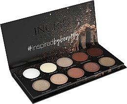Parfums et Produits cosmétiques Palette fard à paupières, matte et brillante - Ingrid Cosmetics Nude Matt & Glam Palette