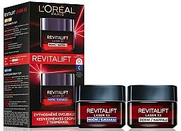 Parfums et Produits cosmétiques L'Oreal Paris Revitalift Laser X3 - Lot (crème de jour/50ml + crème de nuit/50ml)