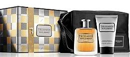 Parfums et Produits cosmétiques Trussardi Riflesso - Coffret cadeau (eau de toilette/100ml + gel douche/100ml + trousse)