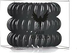Parfums et Produits cosmétiques Élastiques à cheveux, noir - HH Simonsen Hair Cuddles Black Set