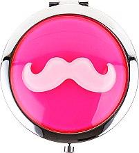Parfums et Produits cosmétiques Miroir de poche rond, 85697, rose clair - Top Choice