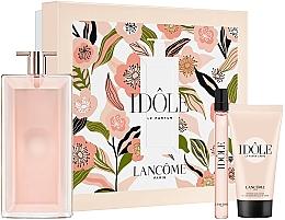 Parfums et Produits cosmétiques Lancome Idole - Coffret (eau de parfum/100ml + eau de parfum/10ml + crème corporelle/50ml)