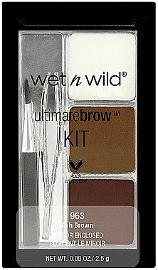 Kit maquillage sourcils - Wet N Wild Ultimate Brow Kit