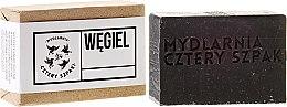Parfums et Produits cosmétiques Savon au charbon actif, huile de coco et beurre de karité - Cztery Szpaki Soap