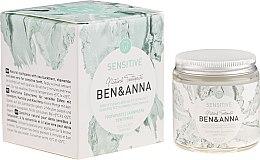 Parfums et Produits cosmétiques Dentifrice naturel - Ben & Anna Natural Sensitive Toothpaste