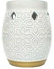 Parfums et Produits cosmétiques Brûleur à tartalettes - Yankee Candle Wax Burner Addison Patterned Ceramic