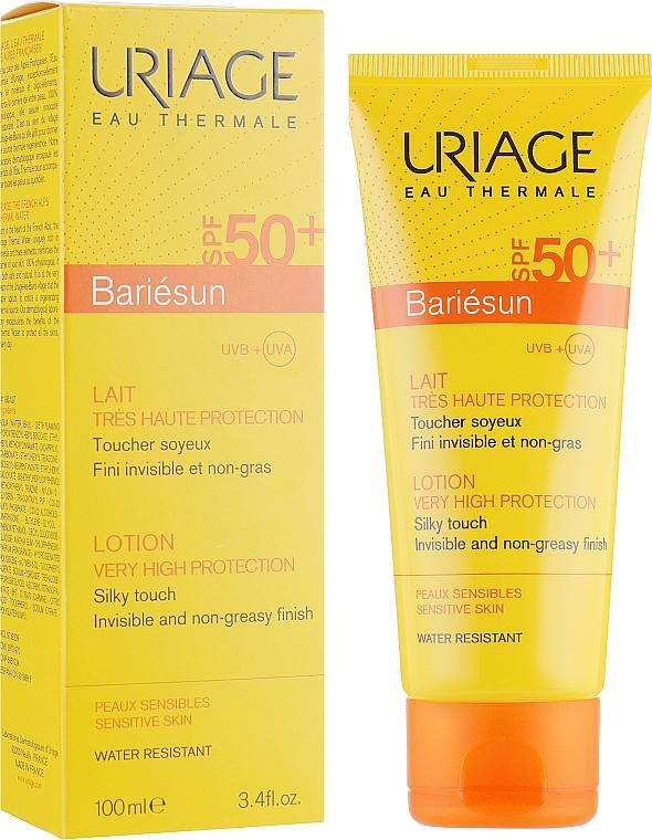 Crème solaire teintée pour peaux sensibles SPF50+ - Uriage Suncare product — Photo N1