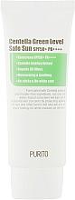 Parfums et Produits cosmétiques Crème solaire à l'extrait d'herbe du tigre pour visage - Purito Centella Green Level Safe Sun SPF50