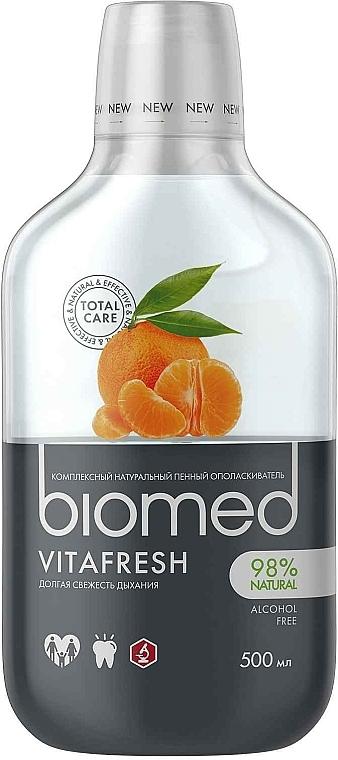 Bain de bouche antibactérien, Agrumes - Biomed Citrus Fresh Mouthwash