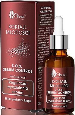 Élixir sébo-régulateur à l'huile d'arbre à thé et aloe vera pour visage - Ava Laboratorium S.O.S Sebum Control
