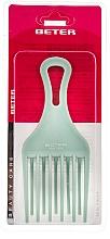 Parfums et Produits cosmétiques Peigne afro, 17 cm, turquoise - Beter Beauty Care