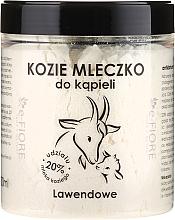 Parfums et Produits cosmétiques Lait de bain de chèvre Lavande - E-Fiore Lavender Bath Milk