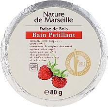 Parfums et Produits cosmétiques Bain pétillante Fraise de bois - Nature de Marseille Strawberries