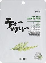 Parfums et Produits cosmétiques Masque tissu à l'huile d'arbre à thé pour visage - Mitomo Tea Tree Essence Mask