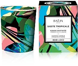 Parfums et Produits cosmétiques Bougie parfumée à la cire végétale, Cédrat et Petit Grain - Baija Sieste Tropicale Scented Candle