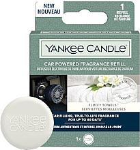 Parfums et Produits cosmétiques Diffuseur de parfum pour voiture (recharge) - Yankee Candle Car Powered Fragrance Refill Fluffy Towels