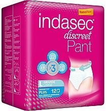 Parfums et Produits cosmétiques Culottes absorbantes, taille L - Indasec Discreet Pant Plus